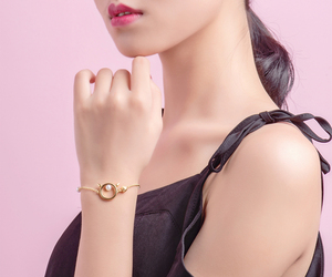 Golden cat bracelet COCOMISS